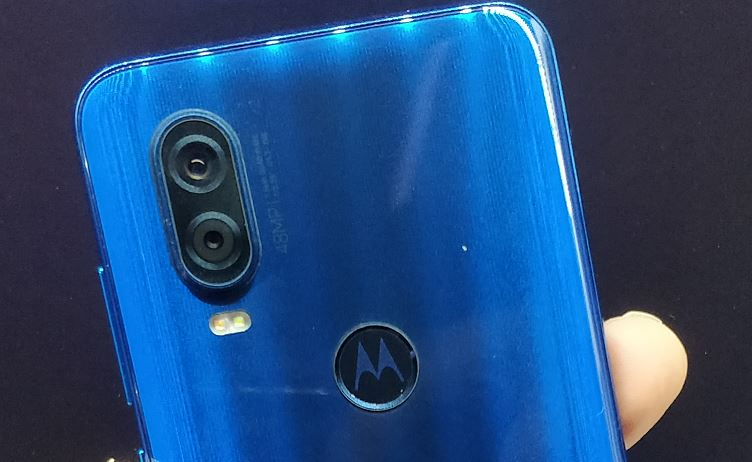 Rear camera Motorola One Vision