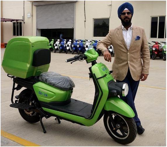 SPOCK electric 2-wheeler 2