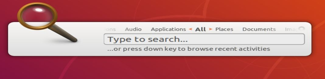 Search for apps in Linux