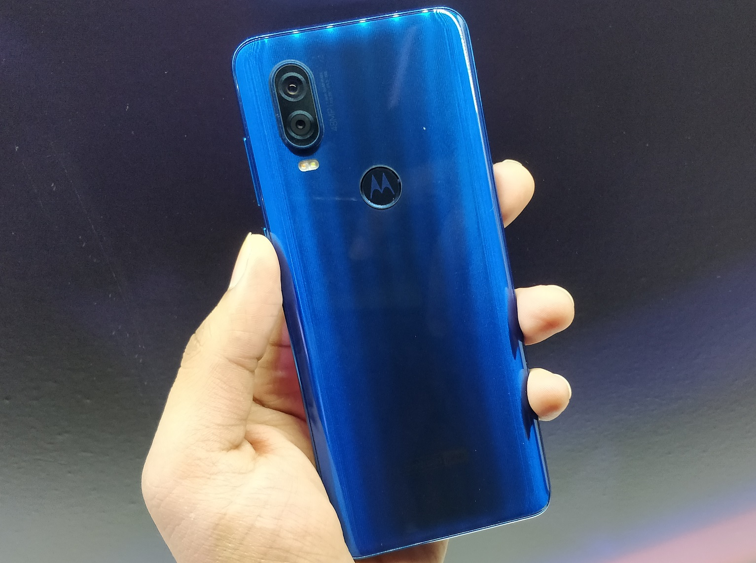 back side One Vision of Motorola