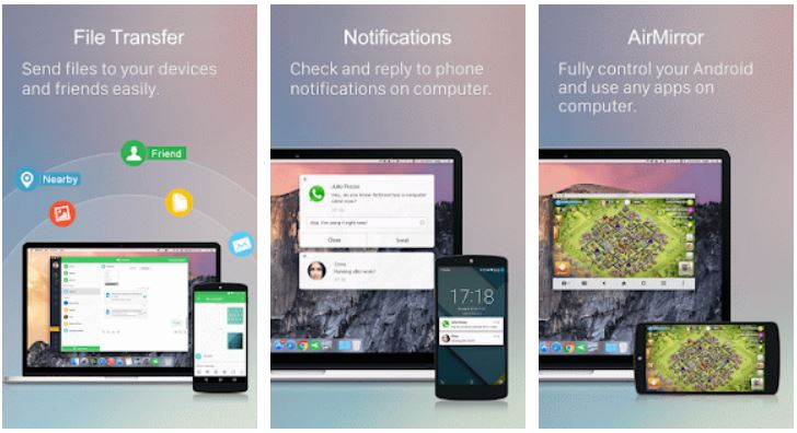 AirDroid Remote access & File app for Android phones