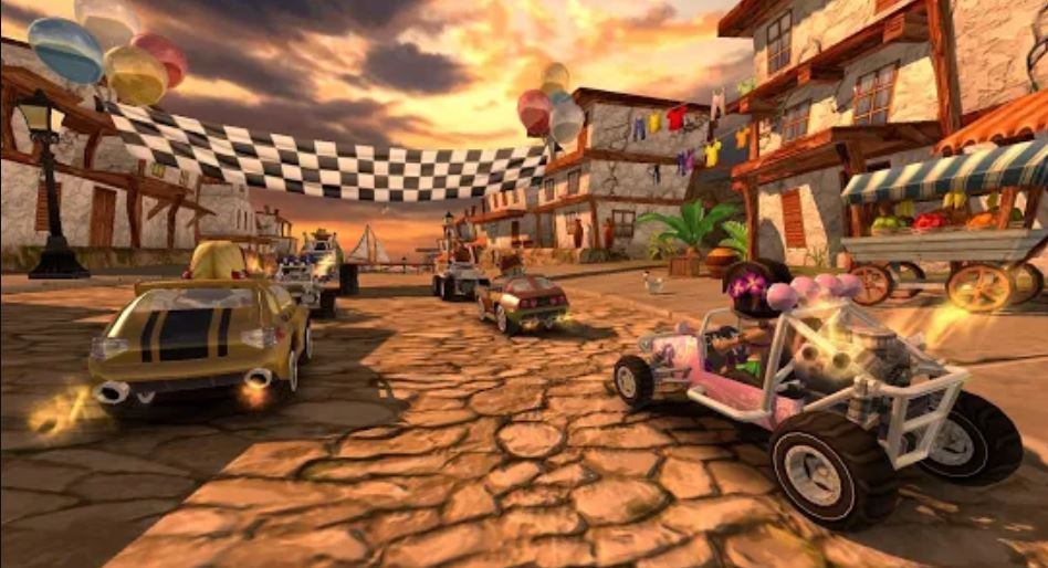 Beach Buggy Racing offline android game