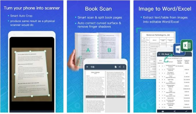 CamScanner – Scanner to scan PDF apps