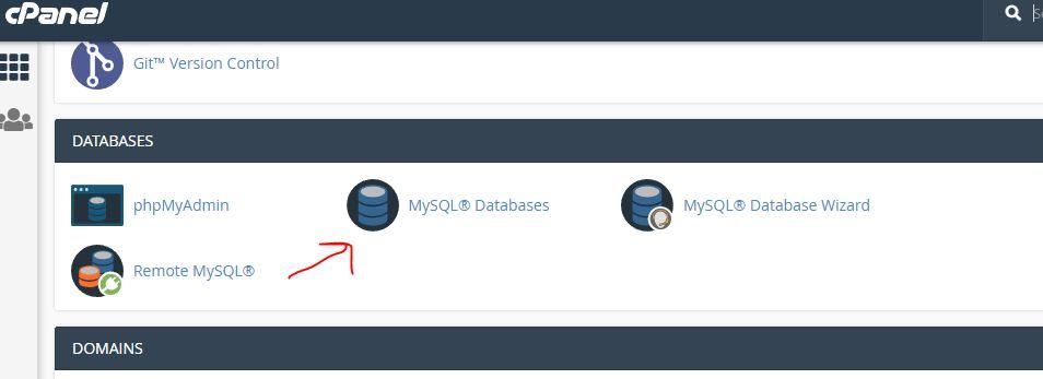Create database for Matomo piwik