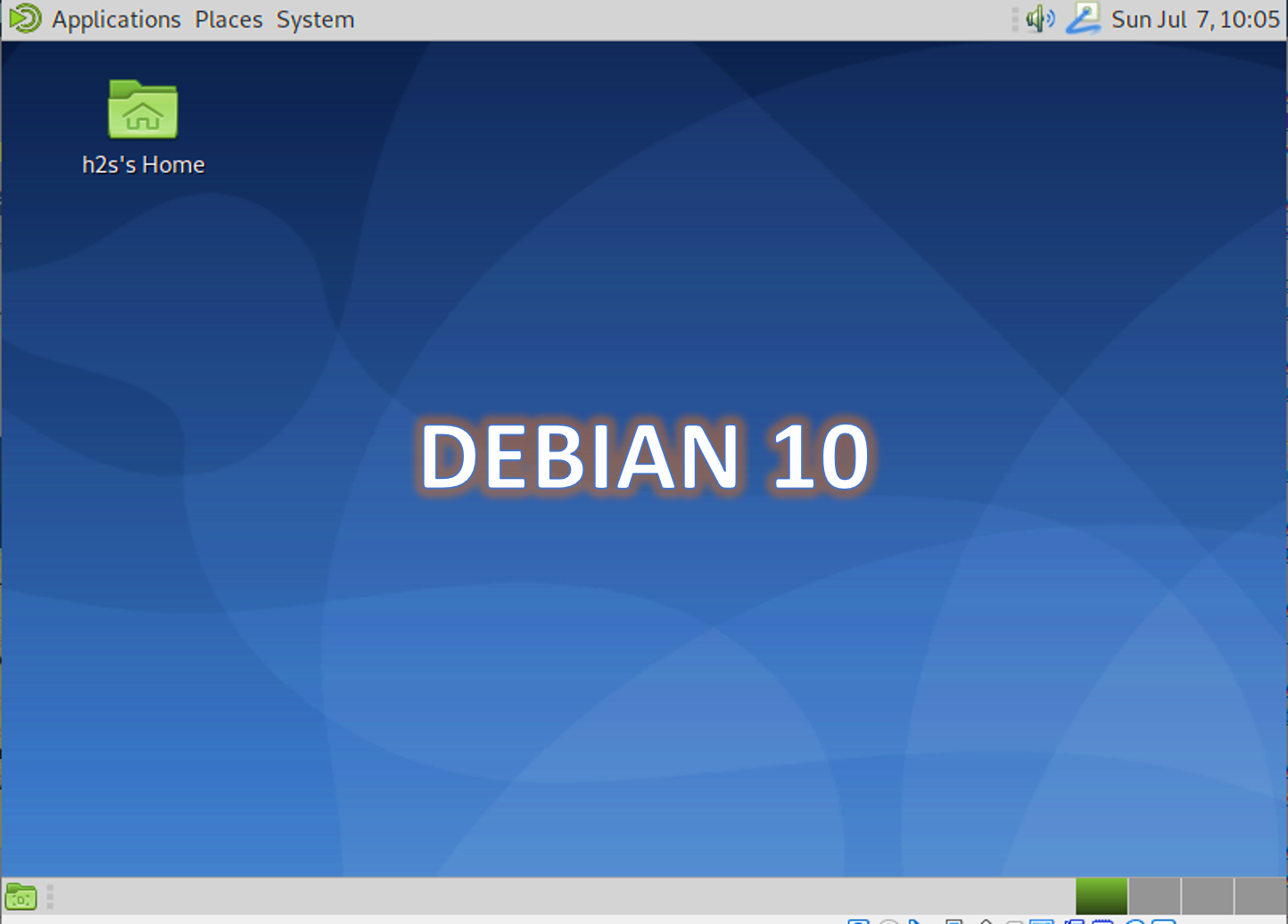 Debian 10 buster installation on Virtual machine