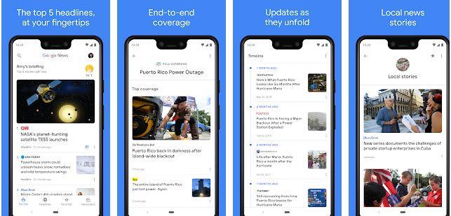 Google News Top World & Local News Headlines