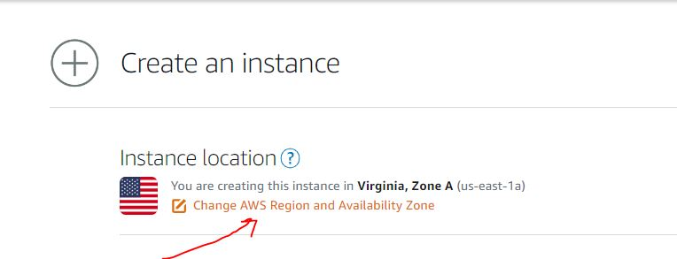 Instance location