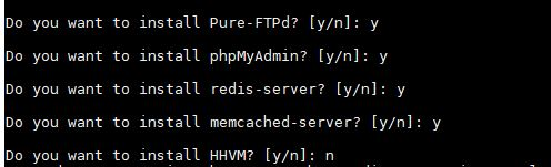 Other serevrs FTP, HHVM, redis and more