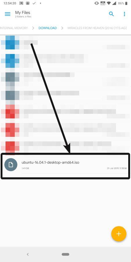 Default Downloads folder