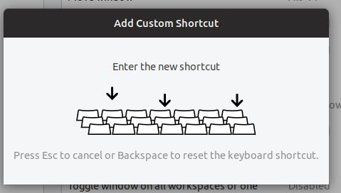 Use keyboard to enter
