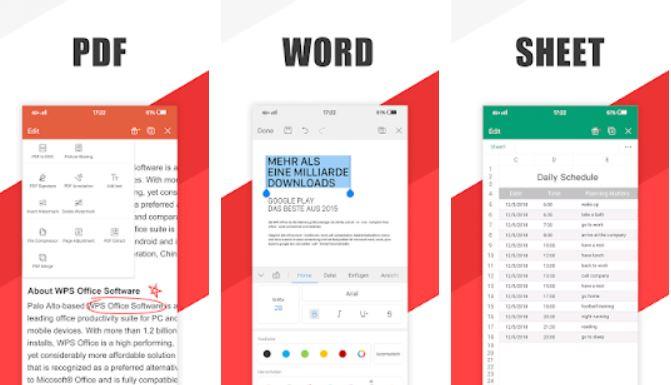 WPS Office – Word, Docs, PDF, Note, Slide & Sheet
