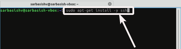 Install SSH on Ubuntu