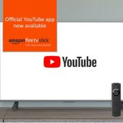 YouTube app now officially available on Amazon Fire TVs