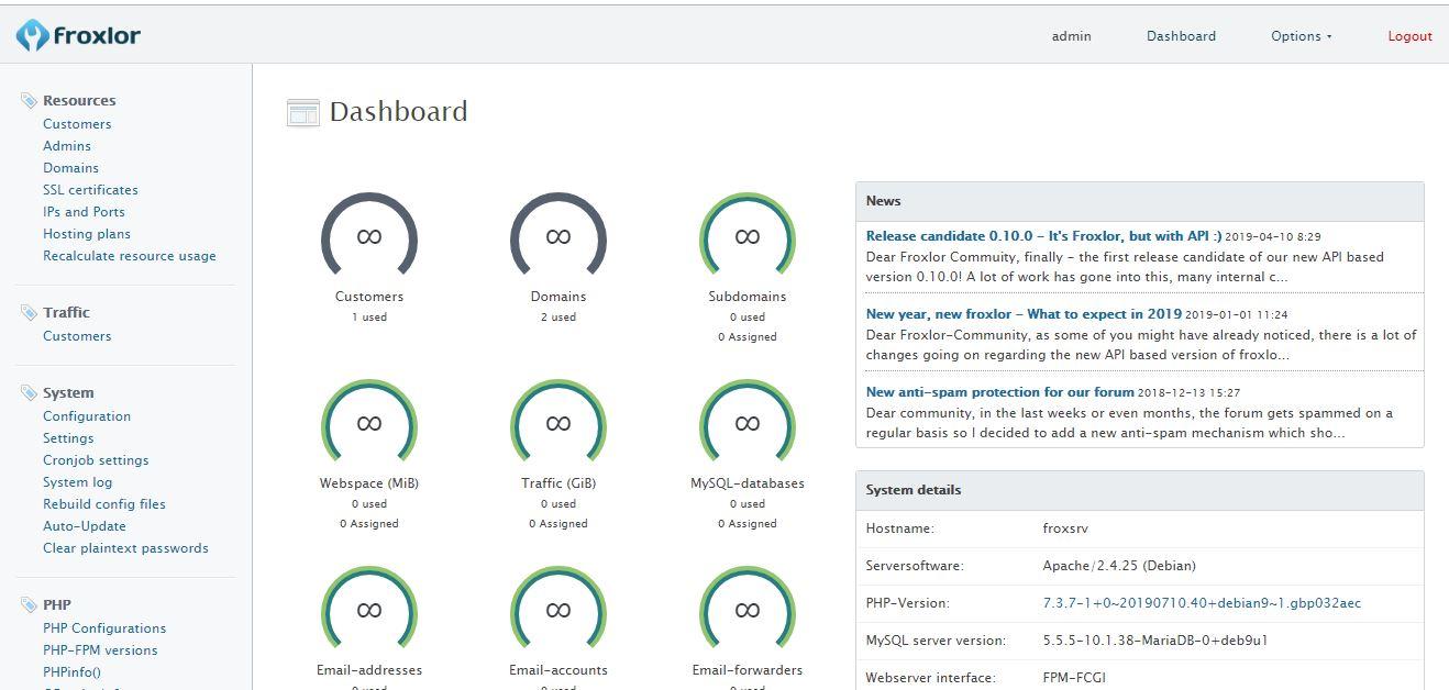 foxlor lightweight server management software