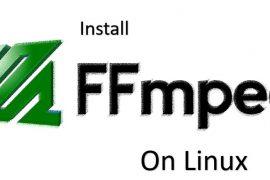 install ffmpeg