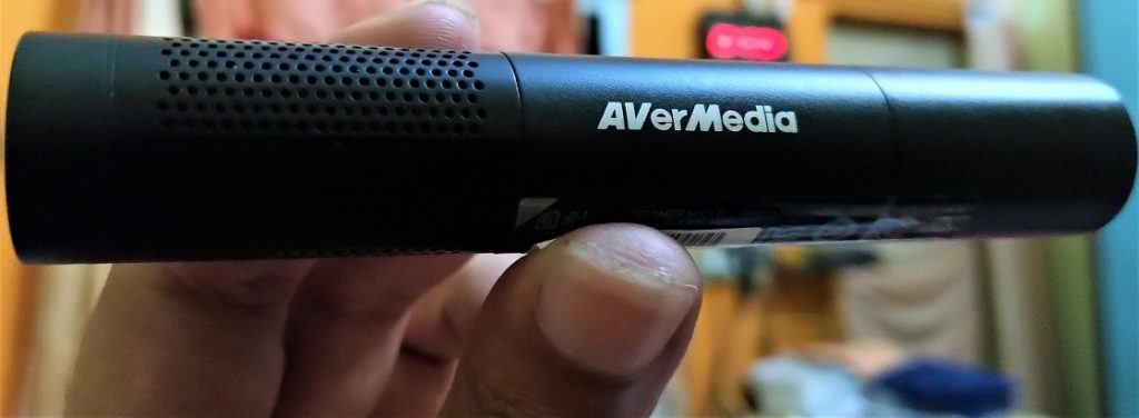 AVerMedia Live Streamer Mic 133 main body