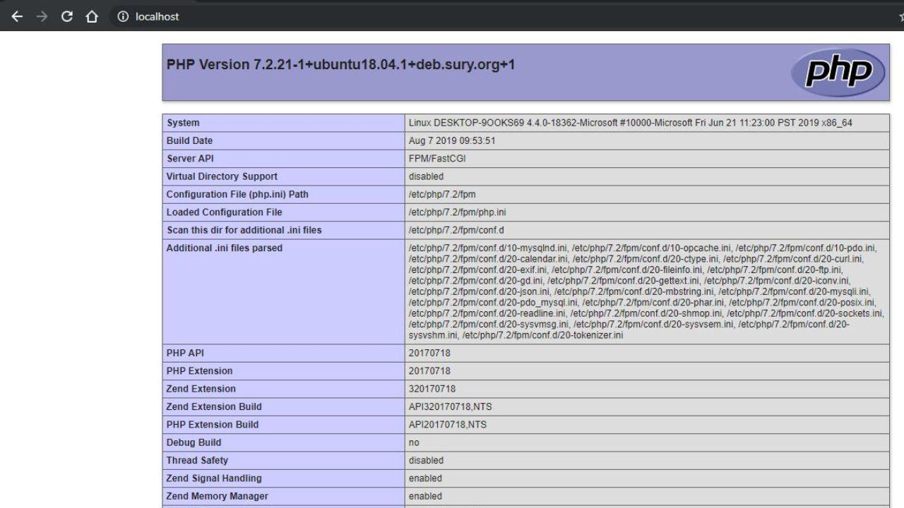 How to install Nginx + php + MySQL on WSL Windows 10 | H2S Media