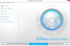 Ashampoo Burning Studio FREE DVD burning software