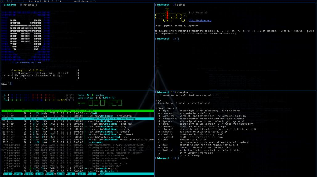 BlackArch is a best Linux distribution for ethical hackers & penetration testers