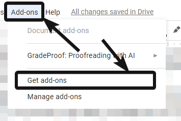 Get Case change add-on in Google Docs