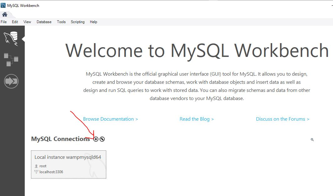 Create Mysql Connection