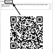 Decode QR Code on PC without an app