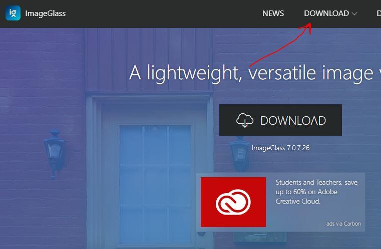 Downlaod ImageGlass image viewer for Windows