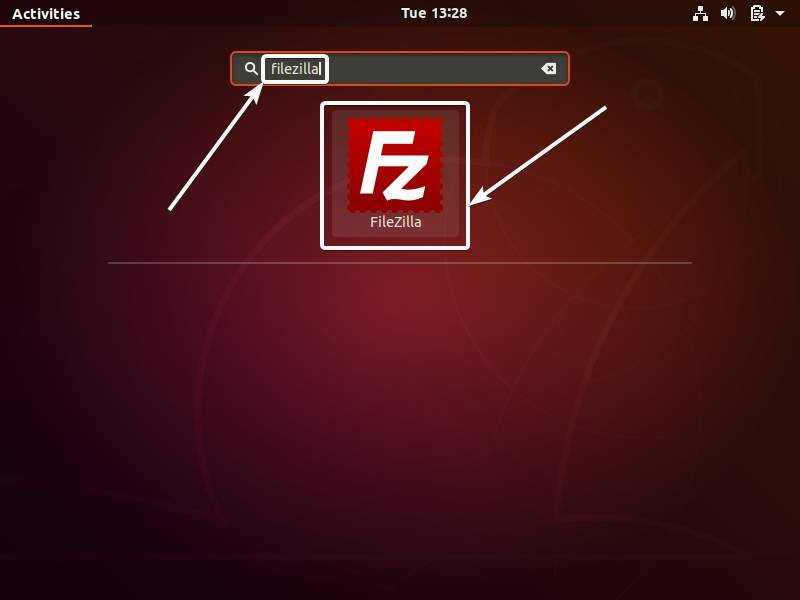 FileZilla on Linux 9