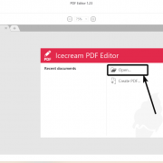 Ice cream-PDF-editor review