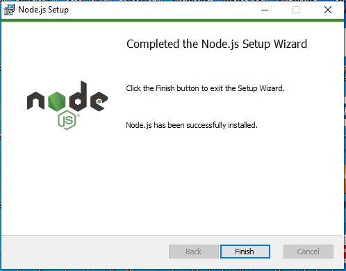 Install NodeJS+NPM on Windows 10