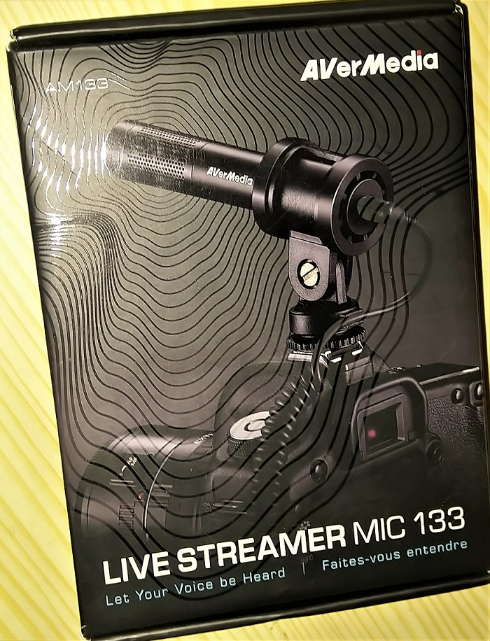Live Streamer Mic 133 review