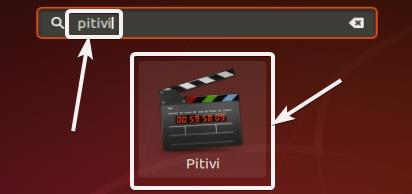 open Pitivi Video Editor on your Ubuntu computer