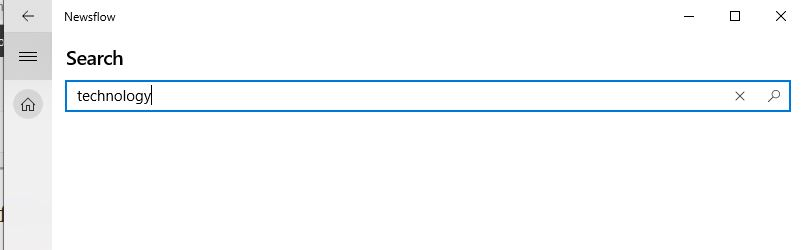 Search using keyword