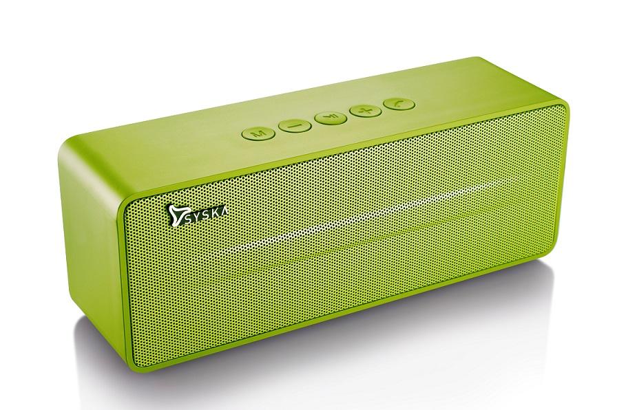 Syska Boombox Wireless BT670 Boombox Wireless Speaker- Green