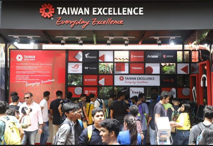 Taiwan Excellence's trailblazing products engage youth at Malhar 2019