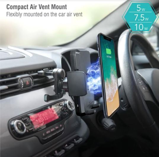 Wireless Car Charger Grip