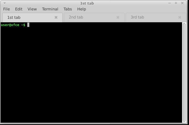 XFCE Terminal best linux terminal alternative