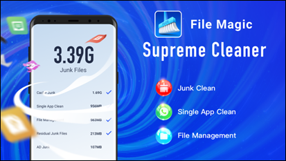 APUS file MAgic cleaner app
