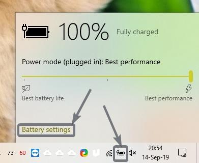 Automatically enable Battery saver on Windows 10 1