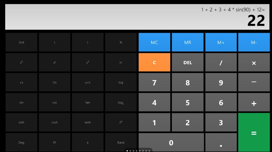Calculator X8 best calculator app for Windows 10