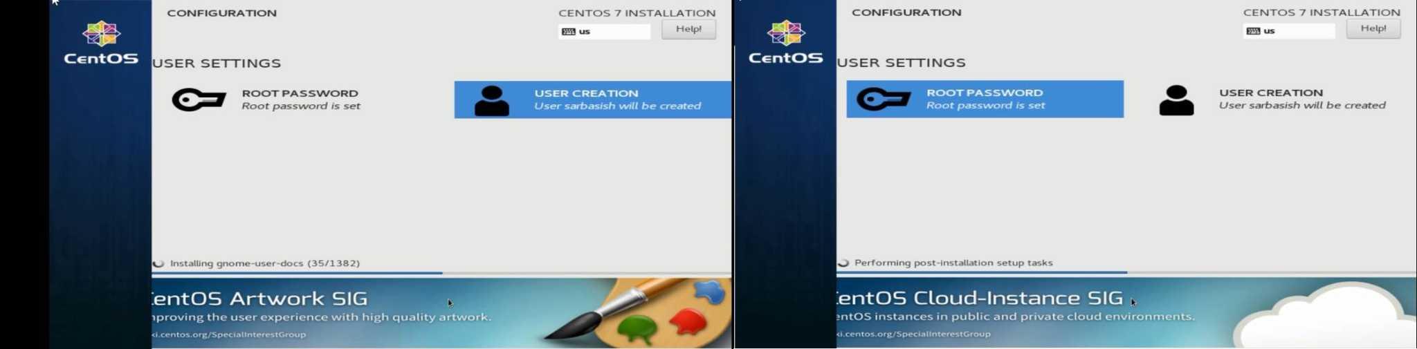 How to install CentOS 7 on a PC via bootable USB | H2S Media