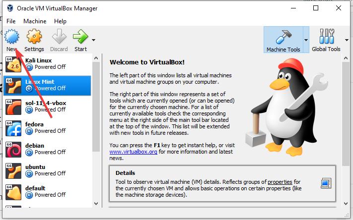 Create-cetnos-virtual-machine on virtualbox