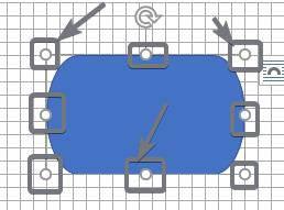 flowcharts modify the shape and size