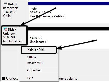 mount a virtual hard drive created using this management on Windows