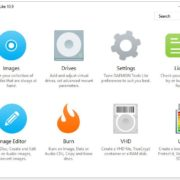 DAEMON Tools Lite free ISO image mounting software