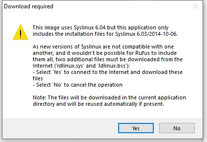 Download syslinux