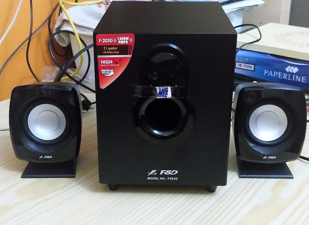 F&D F-203G 2.1 Speakers review