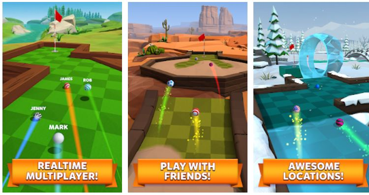 Golf Battle casual android game