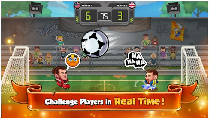 Head Ball 2 Casual ANdroid multiplayer game