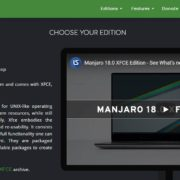 Downloading Manjaro Linux